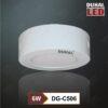 đèn led panel ốp trần 6w sdgc506 duhal