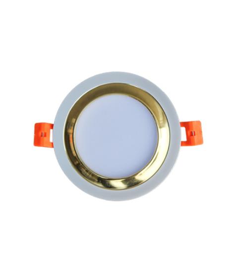 Đèn led âm trần downlight đổi màu 5w DFX005 Duhal
