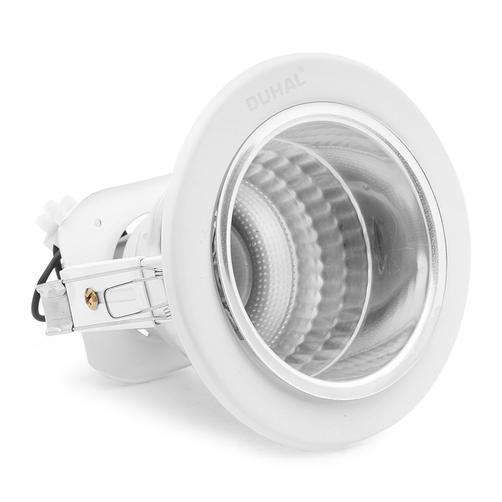 Đèn led âm trần viền sơn trắng 9W LGL5 Duhal
