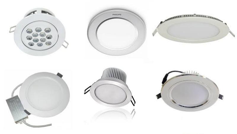 đèn led âm trần nên dùng loại nào