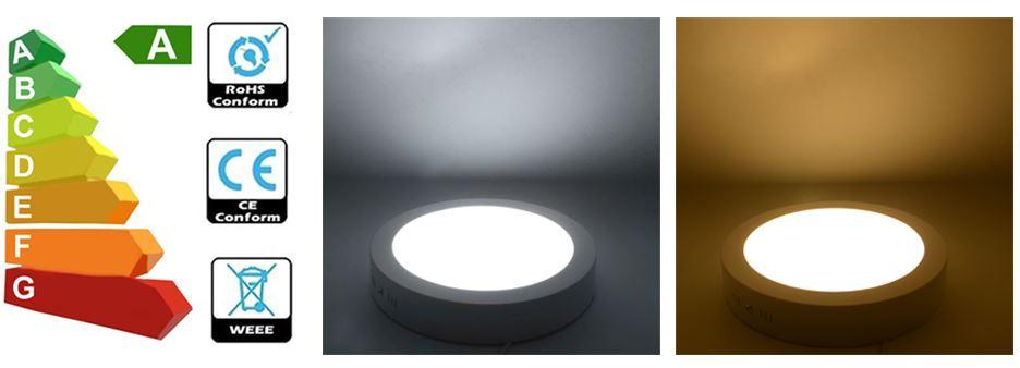2 chế độ màu ánh sáng