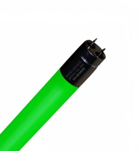 Bóng led tuýp màu T8 6W DHA801G Duhal ánh sáng xanh