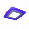đèn led panel màu hình vuông 3w dgv503b duhal