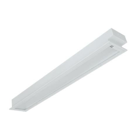 Máng đèn led tán quang âm trần chụp mica 1x18w LLA118 Duhal