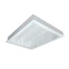 Máng đèn led tán quang âm trần chụp mica 2x9w LLA6209 Duhal