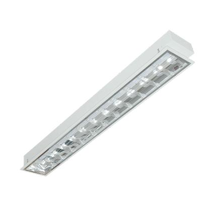 máng đèn led phản quang âm trần duhal lca118