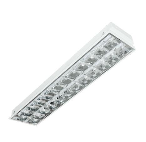 Máng đèn led phản quang âm trần 2x18w LCA6218 Duhal