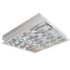 máng đèn led phản quang âm trần 2x9w LCA6209 Duhal