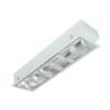 máng đèn led phản quang âm trần 1x9w lda109 duhal