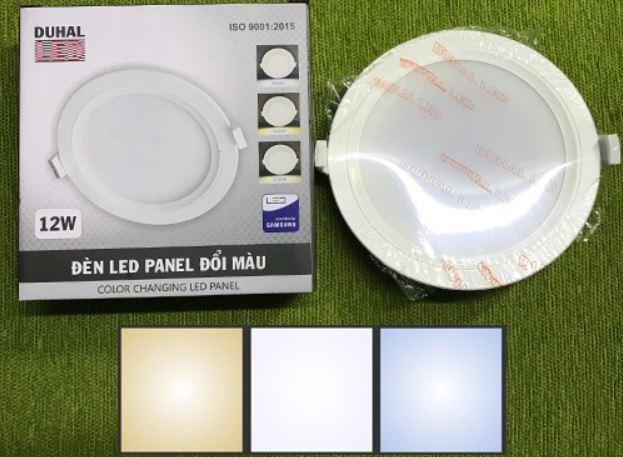 màu sắc ánh sáng đèn led panel sdmt duhal