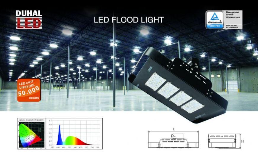 ứng dụng đèn led pha SBHQ Duhal