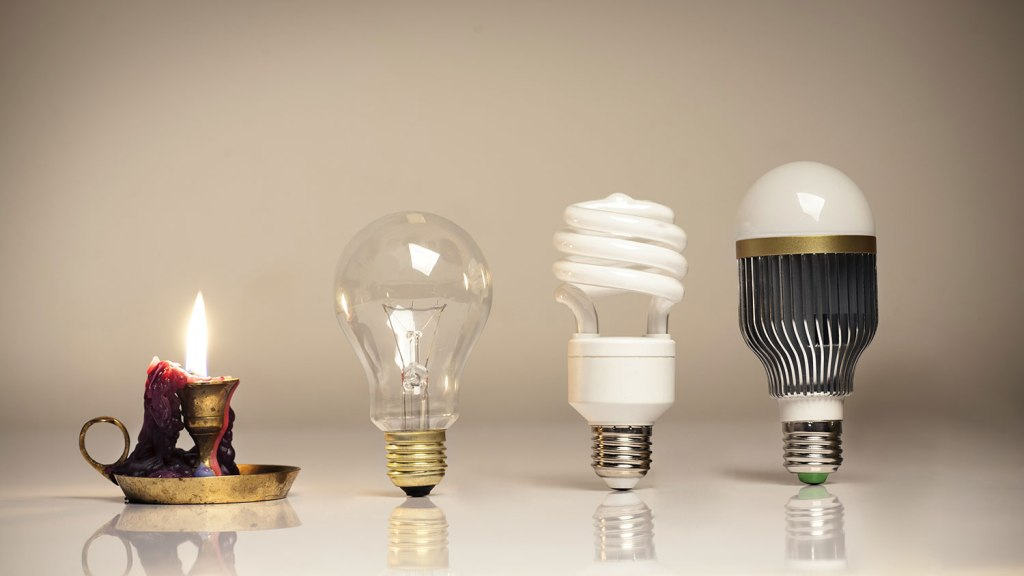 giai đoạn phát triển của các loại bóng đèn