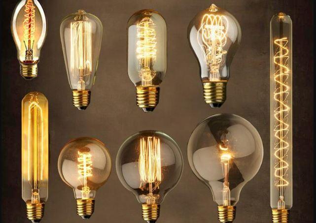các loại bóng đèn dây tóc