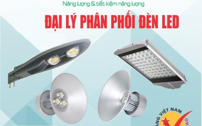 đại lý phân phối đèn led