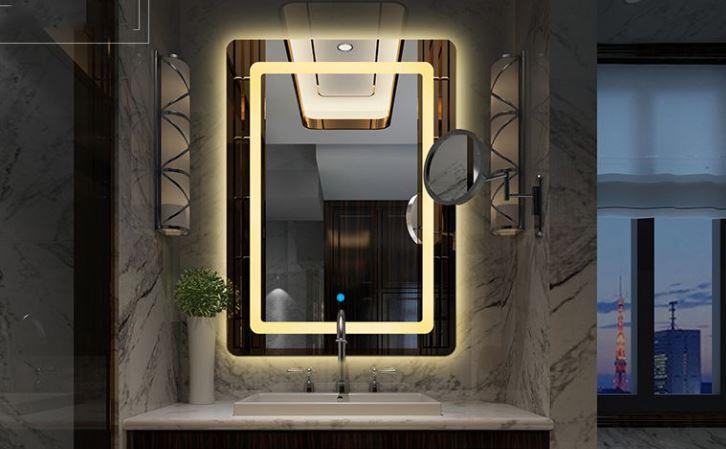 chiếu sáng gương phòng tắm