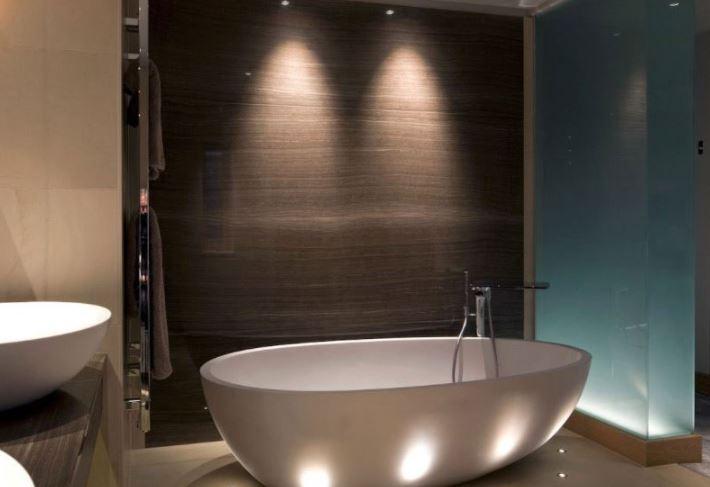 chiếu sáng bồn tắm