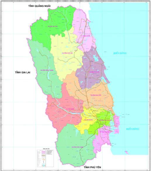 bản đồ thành phố quy nhơn